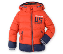 Steppjacke Portoise Boys orange Jungen