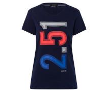 T-Shirt Aloof blau