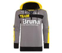 Hoodie Team Brunel grau