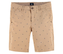 Shorts Rough Grover AOP beige