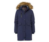 Wintermantel Dovetail Tech blau