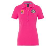 Poloshirt Cablet pink