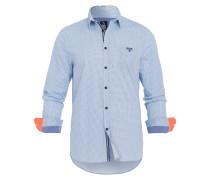 Hemd Tracking blau