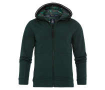 Sweatjacke Pontoon grün