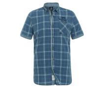 Kurzarmhemd Mainstay blau