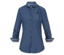 Bluse Fair Jacquard blau