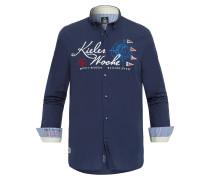 Kieler Woche Hemd Kurt blau