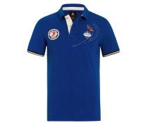 Poloshirt PalmaVela blau