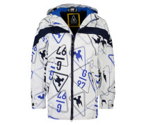 Jacke Rainjacket Men weiß