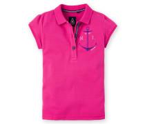 Poloshirt Sheer Girls Mädchen pink