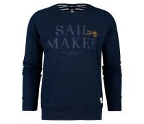 Sweatshirt Watersail blau