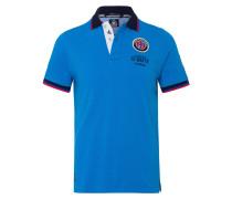 Poloshirt Brann blau