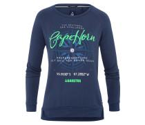 Sweatshirt Stern Solid blau