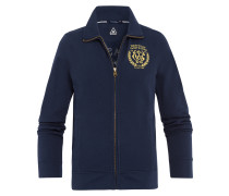 Sweatjacke Jetty blau
