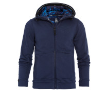 Sweatjacke Pontoon blau