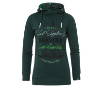 Hoodie Staysail grün