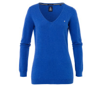 Pullover Royal Sea V Neck blau