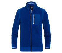 Fleecejacke Harness 2 blau