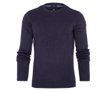 Pullover Press blau