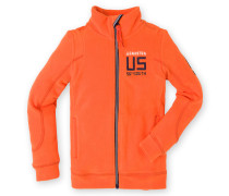 Fleecejacke Vamp Boys orange Jungen