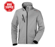 Softshelljacke Boston grau