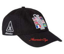 Cap America's Cup schwarz