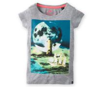 T-Shirt Salute Girls grau Mädchen