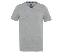 T-Shirt Royal Sea V-Neck grau