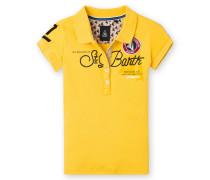Poloshirt Bruna Girls Mädchen gelb
