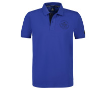 Poloshirt Passage blau