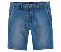 Shorts Gybe Chino Stripe blau