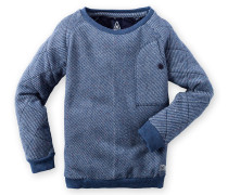 Sweatshirt Pitch Boys Jungen blau