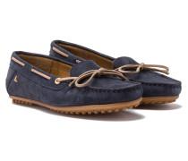 Bootsschuhe Jetty Nubuk blau