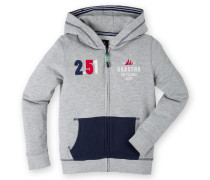 Sweatjacke Wearing Boys grau Jungen