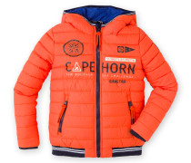 Steppjacke Tell Tale Boys orange Jungen
