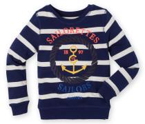 Sweatshirt Valencia Stripe Girls Mädchen blau