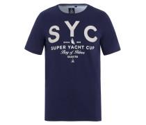 T-Shirt Afloat blau