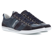 Sneaker Spin Suede blau