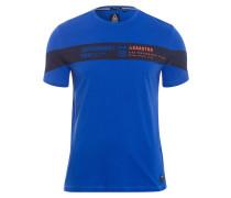 T-Shirt Pacing blau