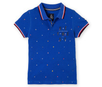 Poloshirt Waterproof Boys Jungen blau