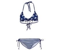 Bikini Knot blau