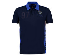 Poloshirt Pirate blau