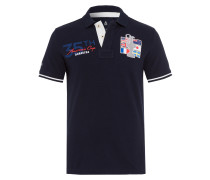 Poloshirt America's Cup 2 blau