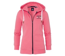 Sweatjacke Open Sea pink
