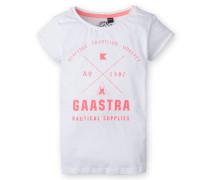 T-Shirt Pad Island Girls weiss Mädchen