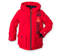 Winterjacke Poppy Boys rot Jungen