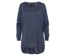 Pullover Second blau