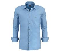 Hemd Bharat blau