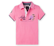 Kieler Woche Poloshirt Konrad Kids Jungen pink