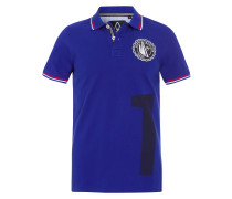 Poloshirt Breaker blau